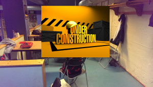 Cafe under construction