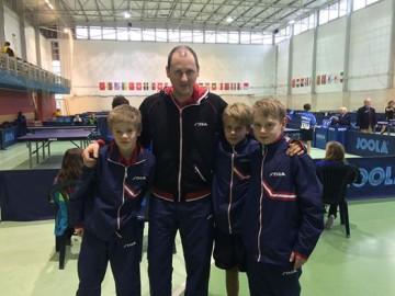 Borgar, Erik og Mathias tatt ut til samling og turnering i Linz i påsken