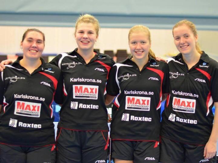 Marte og Anna vant søndagens kamp i den svenske eliteserien!