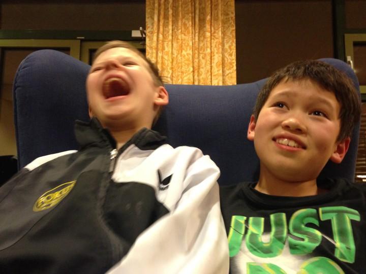 Alexander og Daniel til topps!
