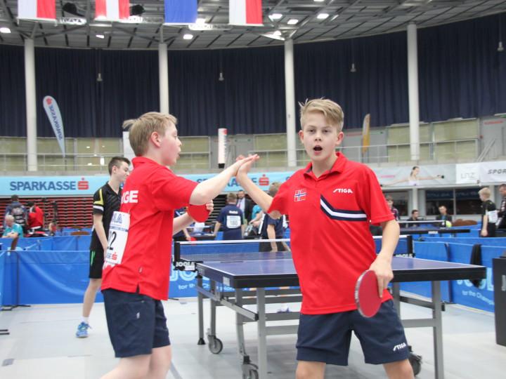Erik og Borgar tatt ut til Prague Cadet Open