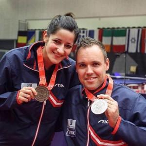 EM gull Aida og Tommy