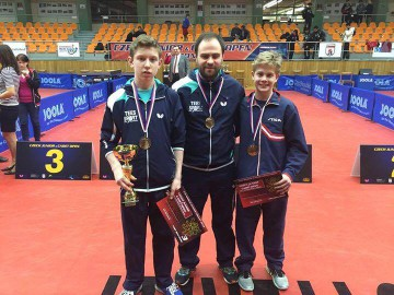 Bronsje til Borgar og Owen i Czech Open!