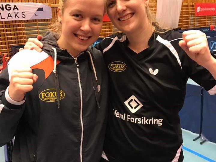 NM-gull i damer lag til Marte og Anna