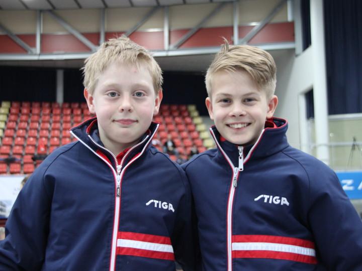 Erik og Borgar tatt ut til 6 nasjoners turnering