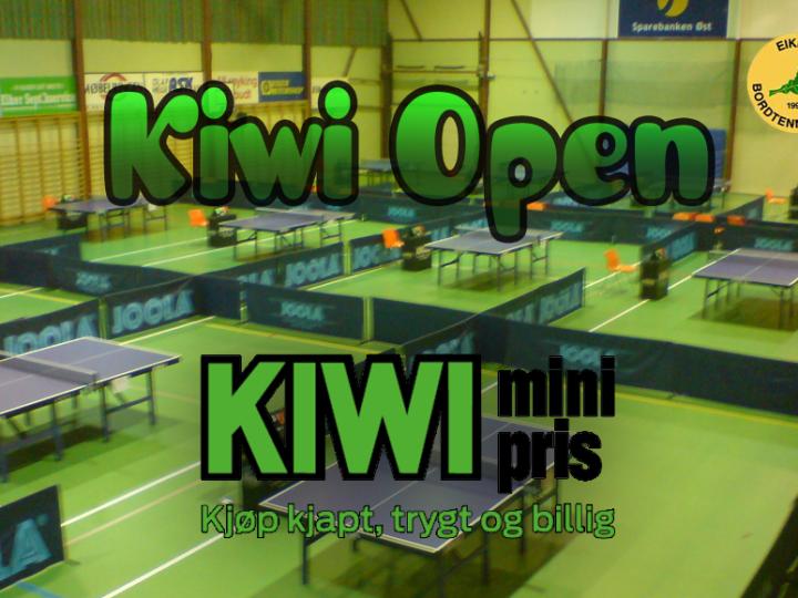 KIWI Open – påmelding
