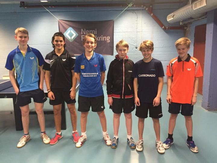 Fokus til Swedish Junior & Cadet Open og Safirs