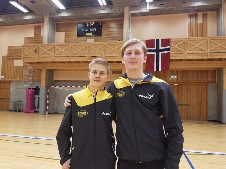 Borgar, Steffen og Fredrik tok NM-gull